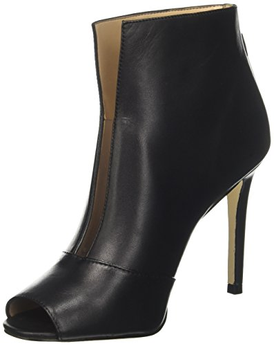 Guess Footwear Dress Shootie, Escarpins Bout Ouvert Femme Noir (Black)