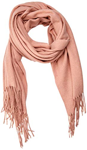 ONLY NOS Damen onlNALA Weaved Long Wool Scarf Acc Schal, Rosa (Misty Rose), One Size