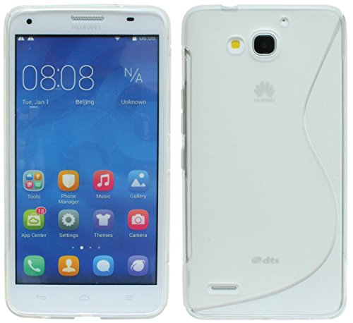 S-Line TPU SchutzHülle für Huawei Ascend G750 Silikon Hülle in Transparent @ Energmix