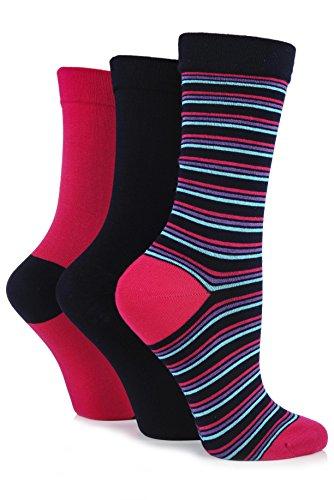 SockShop Ladies 3 Pair Gentle Bamboo Socks