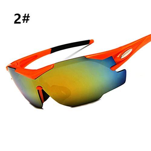 ZKAMUYLC SonnenbrilleRadfahren Sonnenbrillen Winddicht Reiten Klettern Wandern Sport Radfahren Brillen Skibrillen Sport Schutzbrillen