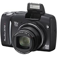 "Canon PowerShot SX110 IS Digitalkamera (9 Megapixel, 10-fach opt. Zoom, 3"" Display, Bildstabilisator) schwarz"