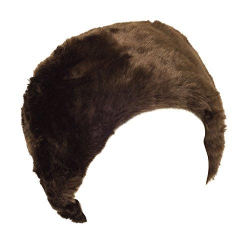 aken russische Hut (Brown), eine Größe (ca. 58 cm) (Kosaken-hut Herren)