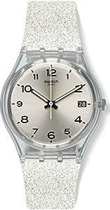 Swatch Reloj Digital para Mujer de Cuarzo con Correa en Silicona GM416C de Swatch