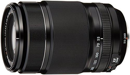 Fujifilm FUJINON Obiettivo Zoom 55-200 mm, f/3.5-4.8,  R LM OIS, Attacco X Mount, Nero