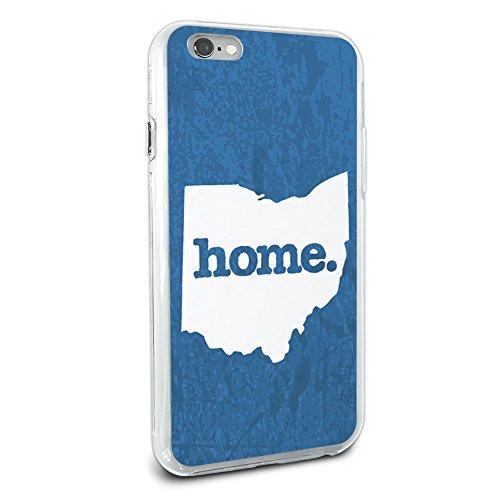 Ohio Oh Home State Hybrid Case für Apple iPhone 66S Plus (Nur für Plus Modell) - Blau 6 Iphone Otterbox-fälle