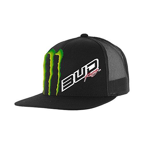 Preisvergleich Produktbild Kappe Team Bud Racing Monster Energy Snapback–Einheitsgröße