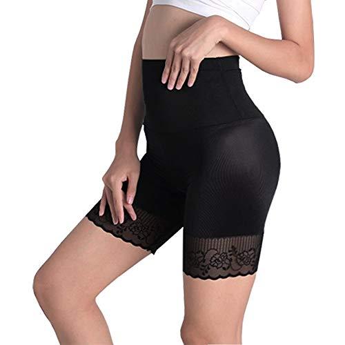 Ceestyle Fajas Pantalon Reductoras Adelgazantes Interior Pantalones Encaje Corsé Adelgazantes de Cinturón Formación Fajas Body Ropa Panty (Encaje sin Costura, S/M)