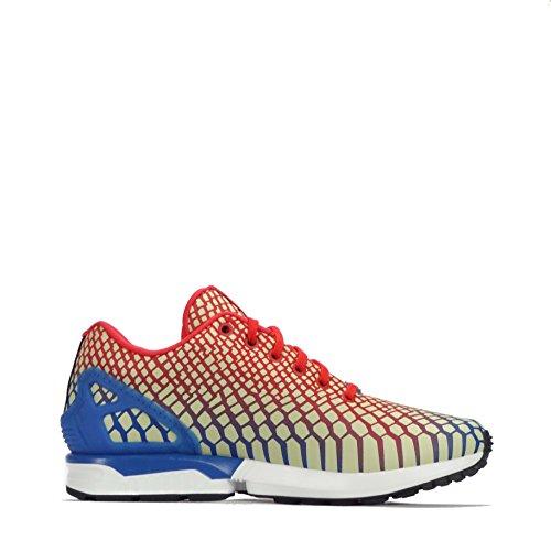 Adidas Adidas Zx Flux, Baskets Blanc Homme Vert Blanc Or Bb5477 Différentes Tailles Rouge / Noir / Blanc