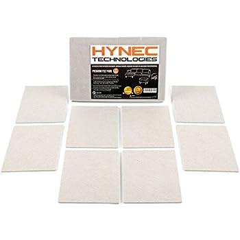 Hynec Premium Furniture Felt Pads 8 Large Pieces Heavy
