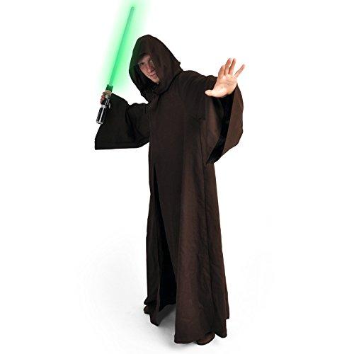 Robe Deluxe Kostüm Für Jedi Erwachsene - Jedi Robe Deluxe Kostüm von Elbenwald