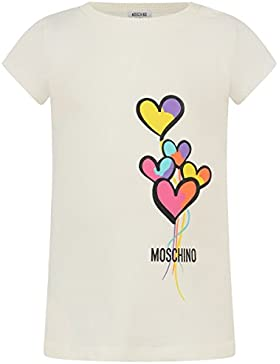 Moschino - T-shirt, Colore: Panna Taglia: 2 Anni