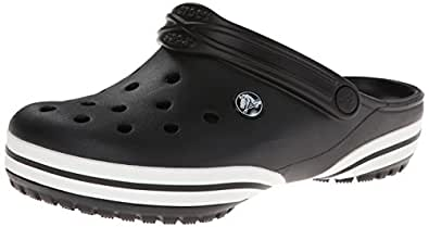 Crocs Unisex Crocband-X Clog Black Rubber Clogs and Mules - M10/W12