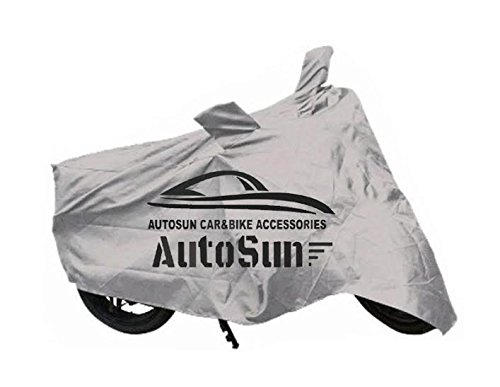 AutoSun Premium Quality Bike Body Cover Silver For YAmaha R15 S  available at amazon for Rs.245