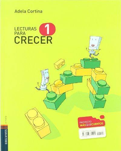 Lecturas Crecer 1º Primaria (Masquecuentos) - 9788426374295