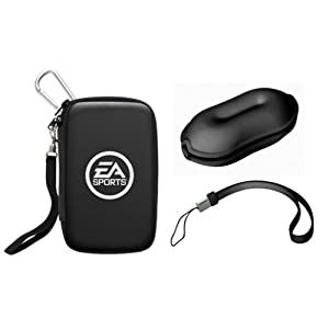 Nintendo Wii – Carry Bag with Cable Organizer & Hand Strap [black] (EA Sports Edition)