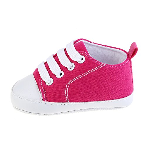 Baby Shoes, Luerme Toddler Canvas Sneakers Baby Boys Girls Prewalker Shoes Anti Slip Soft Sole Cute Trainer