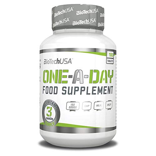 Biotech USA One a Day 100 Tabletten - kompletter Multivitamin-Komplex -