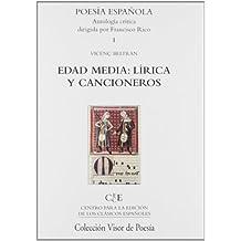 Edad Media: Lírica y Cancioneros (Poesía Española)