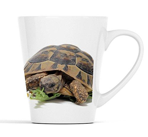 Schildkröte |Latte Macchiato Becher Kaffeebecher mit Fotodruck |001
