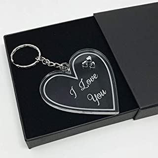 I love you Valentine's Day keyring