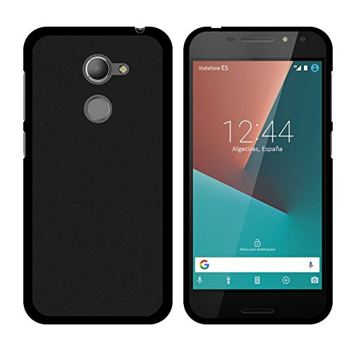 TBOC® Schwarz Gel TPU Hülle für Vodafone Smart N8 (5.0 Zoll) Ultradünn Flexibel Silikonhülle