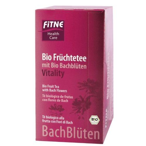 Fitne, Bachblüten Tee Vitality, FITNE Bachblüten-Produkte, 20Btl