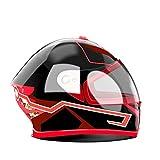 XZANTE Motorrad Helm EL Kalt Licht Helm Licht Streifen Nacht Signal Leucht Modifizierte Streifen...
