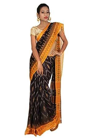 Cheneta - Handloom It Is Cotton Saree (Pc113_Slate Colour)