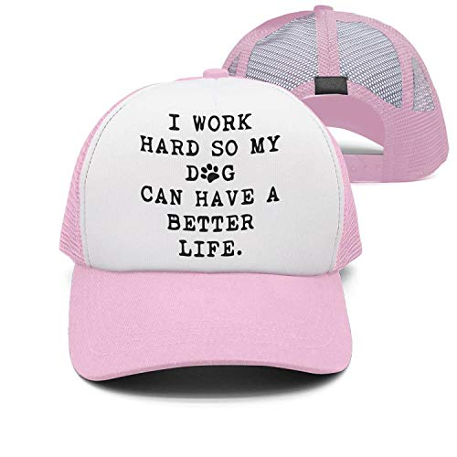 I Work Hard So My Dog Can Have A Better Life-1 Vintage Jeans Baseball Cap for Men and Women (Life 2019 Galaxy Halloween)