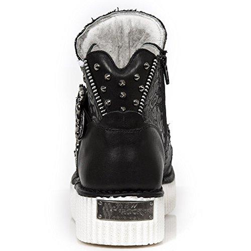 New Rock Neo Creeper Schwarz Schuhe M.CRP051-S1 BLACK, BLACK