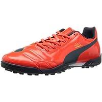 Puma evoSPEED 4.3 AG, Calcio scarpe da allenamento uomo, Rosso (Bright Plasma-White-Peacoat), 46.5