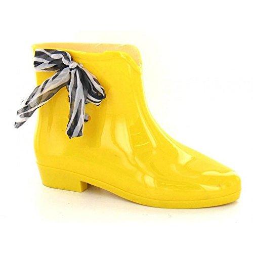Spot On , Bottes en caoutchouc femme Jaune - jaune
