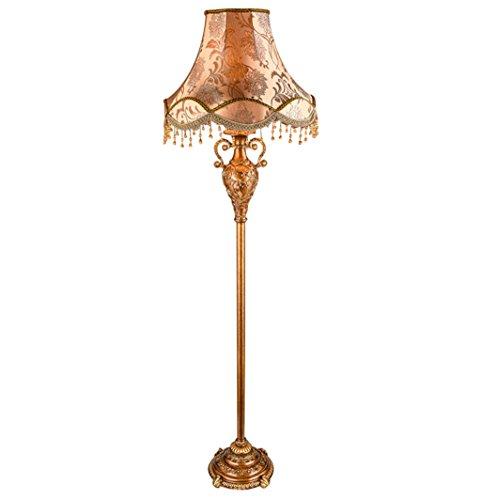 Home mall- Europäische Harz Stehlampe | Amerikanische Landhausstil Retro Stehleuchte | für Wohnzimmer Schlafzimmer Arbeitszimmer 50 * 170 CM