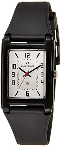 Maxima Fiber Analog Black Dial Men's Watch - (02445PPGW)