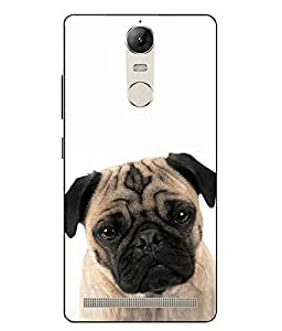 Case Cover Dog Printed Multicolor Hard Back Cover For Lenovo vibe K5 Note
