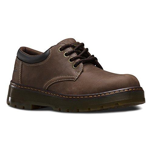 Dr. Martens Mens Bolt Leather Work Boots Dark Brown