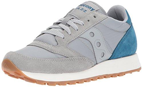 SAUCONY scarpe sneaker donna JAZZ ORIGINAL S1044-412 grigio chiaro azzurro 37.5 EU