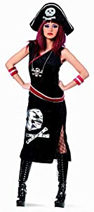 Limit Sport - Disfraz de pirata Askanja para adultos, color negro, talla M (MA315)