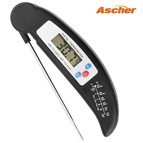 Food Thermometer - Ascher Ultra Fast Cooking