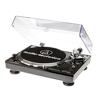 Audio-Technica AAT-LP120USBHCBK USB Turntable with HS10 Headshell - Black
