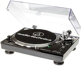 Audio-Technica AT-LP120USB, Giradischi, Nero