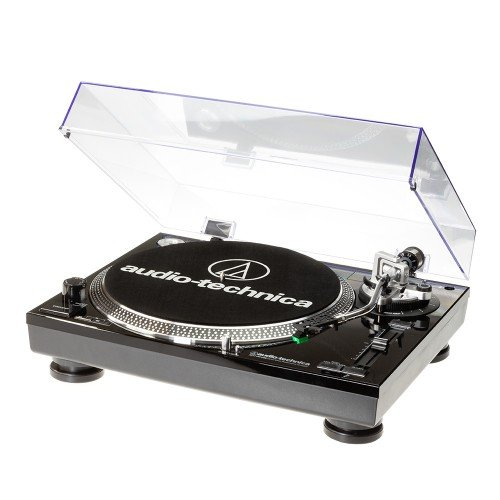 Audio-Technica AT-LP120USBCBK Direct drive audio turntable platine - platines