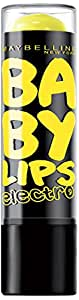 Gemey Maybelline Baby Lips Electro 2 -  Fierce N Tangy - Lot de 2 Baumes à Lèvres