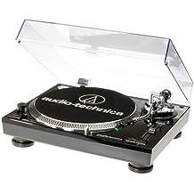 Audio-Technica AT-LP120USBCBK tocadisco - Tocadiscos (1.1, Corriente alterna, 11W, 115-230V, Windows XP, Vista, MAC OSX, Aluminio)