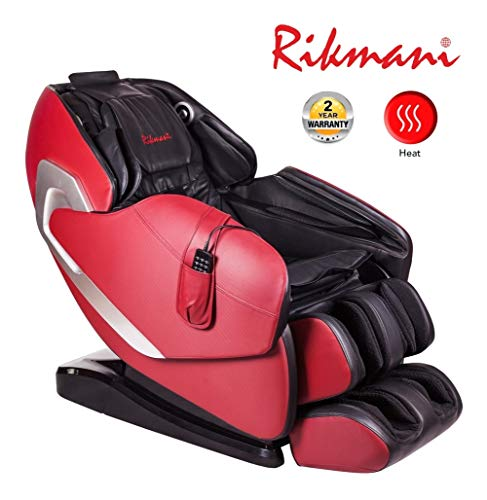 Relax Massagesessel Zero Gravity - 3D Stressless Sessel mit Heizfunktion - Shiatsu Relaxsessel - Massage Sessel - TV Sessel mit Massagefunktion für den Rücken (New Modell)