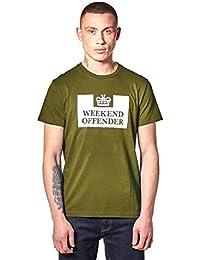 Weekend Offender Men's Prison T-Shirt SS Olive