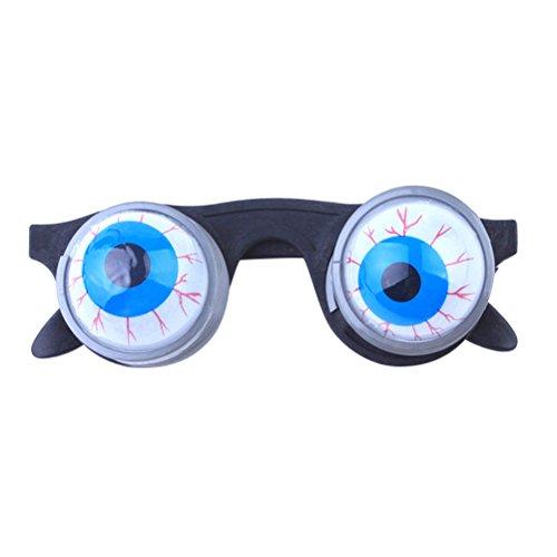 LUOEM Augen-Brille Party Brillen für Halloween Party (Fallen Kopf Kostüm)