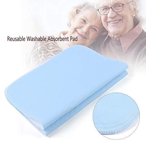 Yiye Zhiqiu 2 stücke Wiederverwendbare Inkontinenz Bettpolster 4 Schichten Waschbar Pad Saugfähigen Pad Für Erwachsene Inkontinenz Pad Baby Bettnässen 45 * 60 cm