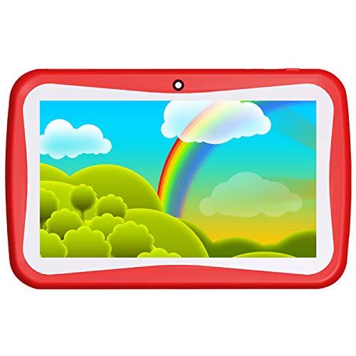 Ctroniq KinderTab K9 Kids Tablet - Ctroniq KinderTab K9 Kids Tablet - Android Oreo - 7 Inch, 8GB, 1GB RAM, Wifi - Red